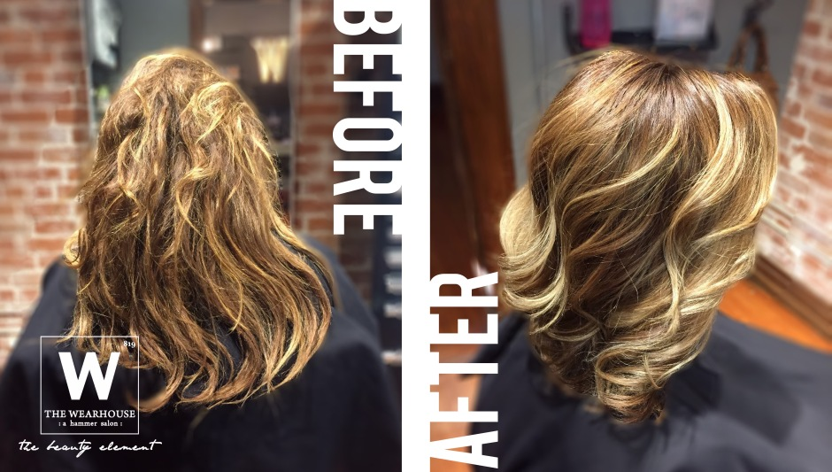 Hair Cut - Color - Style by Jullie Hammer, assisted by Brooke Bell